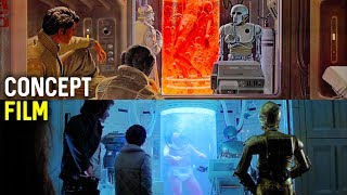 Download Star Wars CONCEPT ART VS FILM | EMPIRE STRIKES BACK Video