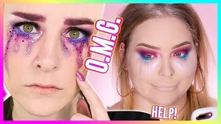 Download I TRIED FOLLOWING A SIMPLY NAILOGICAL MAKEUP TUTORIAL... WOW! Video