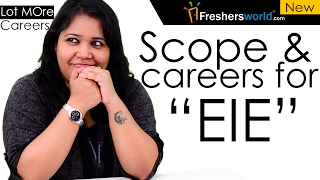 Download Careers and scope after EIE – Electronics & Instrumentation Engineering,After B.tech Video