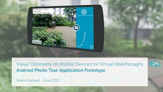 Download Street View Photo Tour Android App (Mobile Visual Odometry) Video