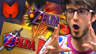 Download The BEST N64 Games? Ocarina of Time Vs Majora's Mask - Madness (The Legend of Zelda) Video