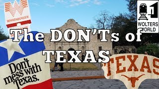 Download Visit Texas - The DON'Ts of Visiting Texas Video