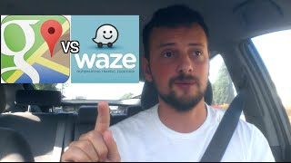 Download Google Maps vs Waze - Which is better for Uber/Lyft Drivers ? Video
