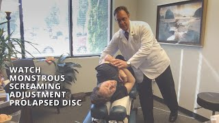 Download One Messed Up Patient Watch Monstrous Screaming Adjustment Series Prolapsed Disc Pinched Nerve Lacey Video