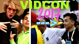 Download VIDCON 2017- LOGAN PAUL & RICE GUM ATTACKED BY FANS! Video
