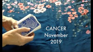 Download Cancer November 2019 Tarotscope Video