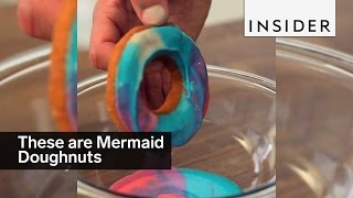 Download This is how you make Mermaid Doughnuts Video