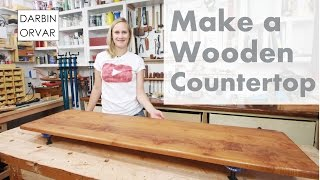 Download Making an Awesome Wooden Counter-Top for Built-ins Video