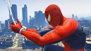 Download GTA 5 Spiderman Mod - Người Nhện náo loạn trong game GTA 5 Video
