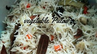 Download Restaurant Style Vegetable Pulao Recipe (Quick and Easy Restaurant Style Vegetable Pulao) Video