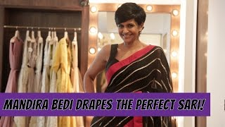 Download Mandira Bedi Shows You How To Drape The Perfect Sari Video