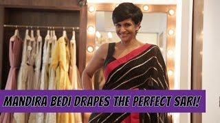 Download Mandira Bedi Shows You How To Drape The Perfect Sari Video