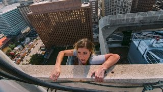 Download FALLING OFF 350 FOOT ROOF!!! Video