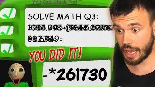 Download WE SOLVED THE THIRD QUESTION!? Baldi Basics In Education And Learning (Scary) Video