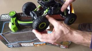 Download Off Road Remote Control 1/18 2.4G 4WD Rock Crawler eBay Buggy review Video