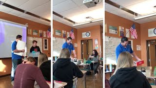 Download Students Give Present To Widowed Teacher Video