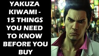 Download Yakuza Kiwami - 15 Things You ABSOLUTELY NEED To Know Before You Buy Video