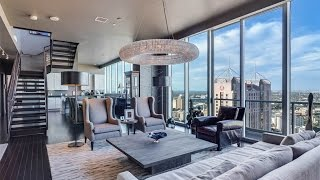Download Flawless Penthouse with Skyline Views in San Antonio, Texas Video