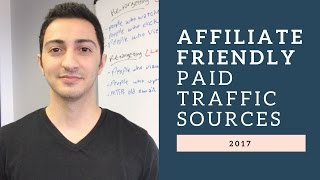 Download Top Affiliate Friendly Paid Traffic Sources of 2017 - 2018 Video