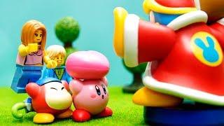 Download 【LEGO遊び】星のカービィごっこ 強すぎるデデデ大王と対決だ!【アナケナ&カルちゃんのキッズアニメ】Kirby Video