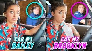 Download Identical Twins 2-Car DRIVE THRU Challenge Video