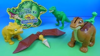 Download 2003 THE LAND BEFORE TIME SET OF 5 WENDY'S KIDS MEAL TOYS VIDEO REVIEW Video