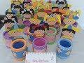 Download Lembrancinhas dia das crianças e volta às aulas .Latas decoradas menina e menino. Video