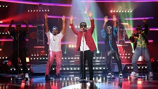 Download Mark Ronson & Bruno Mars Perform 'Uptown Funk' Video