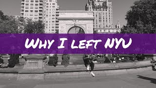 Download 6 REASONS WHY I DROPPED OUT OF NYU Video