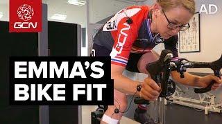 Download Emma's Bike Fit | Saddle Position, Handlebar Setup & Pedalling Technique Video