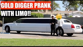 Download Limousine Gold Digger Prank | UDY Pranks 2017 Video