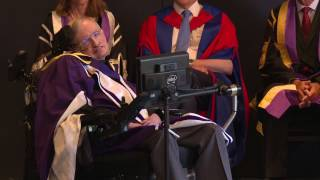 Download Professor Stephen Hawking awarded honorary degree by Imperial Video