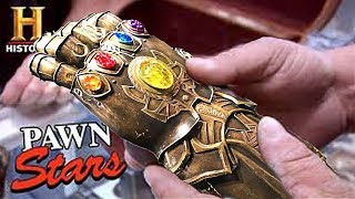 Download Pawn Stars: $100,000 Thanos Infinity Gauntlet (Avengers: Infinity War) Video