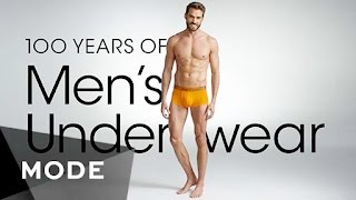 Download 100 Years of Fashion: Men's Underwear ★ Glam Video