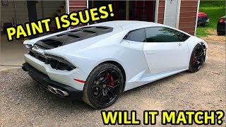 Download Rebuilding A Wrecked Lamborghini Huracan Part 13 Video