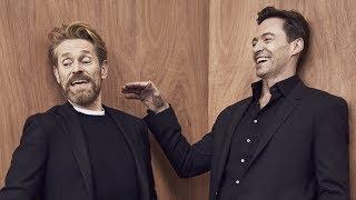 Download Actors on Actors: Hugh Jackman and Willem Dafoe (Full Video) Video