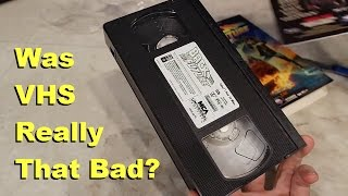 Download VHS Tapes - Were they as bad as we remember? Video