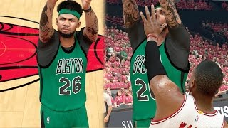 Download NBA 2k17 MyCAREER Playoffs - Must Win Elimination Game! Nasty Posterizer Dunk on Wade! SFG6 Ep. 101 Video