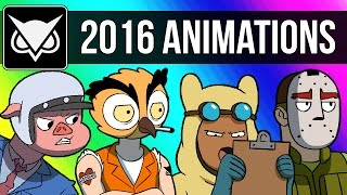 Download VanossGaming Animated 2016 Compilation (Moments from Gmod, GTA 5, Cod Zombies, & More!) Video