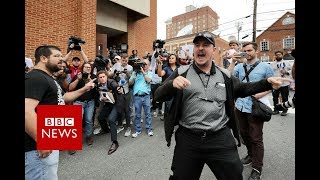 Download 'Very violence scenes' as far-right marchers and protesters clash in Virginia - BBC News Video