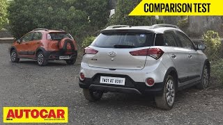 Download Hyundai i20 Active VS Fiat Avventura | Comparison Test | Autocar India Video