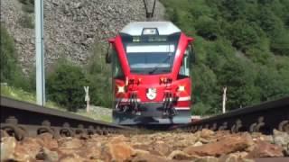 Download Bernina Express Führerstand Tirano → St Moritz Video