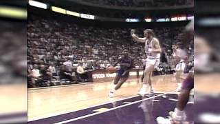Download Karl Malone gives Isiah Thomas 40 stitches Video