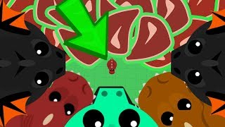 Download MOPE.IO SMALLEST T-REX vs 900 ANIMALS!! // Mope.io Short Story Video