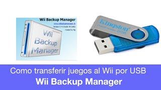 Download Como Pasar Juegos del PC a la Wii por memoria USB o Disco Duro con WBFS Manager Video