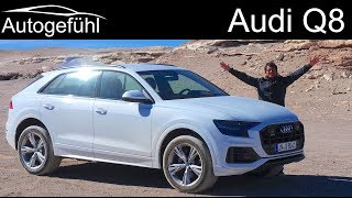 Download Audi Q8 FULL REVIEW driving Audi's new SUV flagship - Autogefühl Video