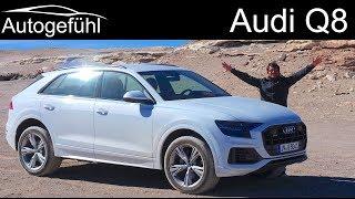 Download Audi Q8 FULL REVIEW driving Audi's new SUV flagship - Autogefühl Video