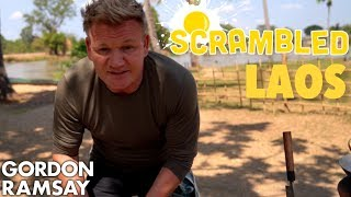 Download Gordon Ramsay Makes a Spicy Asian Omelette in Laos | Scrambled Video
