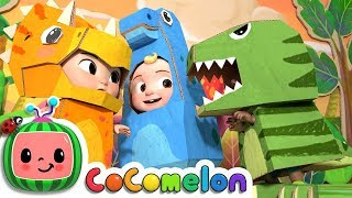 Download Dinosaur Day Song   CoCoMelon Nursery Rhymes & Kids Songs Video