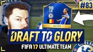 Download 98 TOTS HAZARD!!! - #FIFA17 DRAFT TO GLORY #83 Video